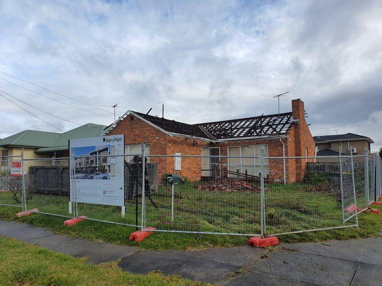 Pre demolition image